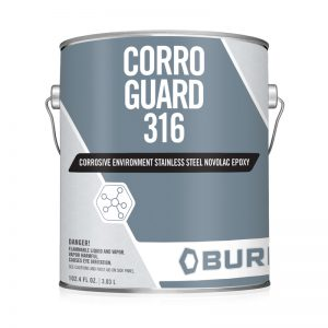 Chemical Resistant Stainless Steel Commercial OEM Metal Epoxy Coating -Corro Guard 316™