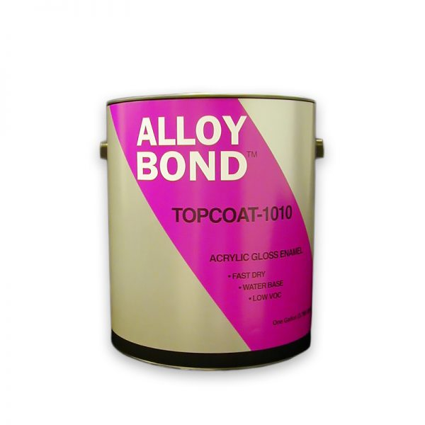 Commercial Water-Based Acrylic High Gloss White Metal Paint - TopCoat-1010™