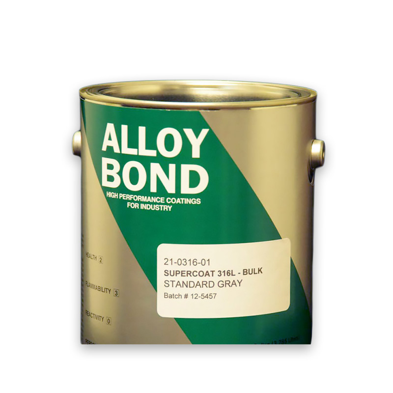 Metal Satin Finish Acrylic Stainless Steel Lower Carbon Paint Supercoat-316L BULK