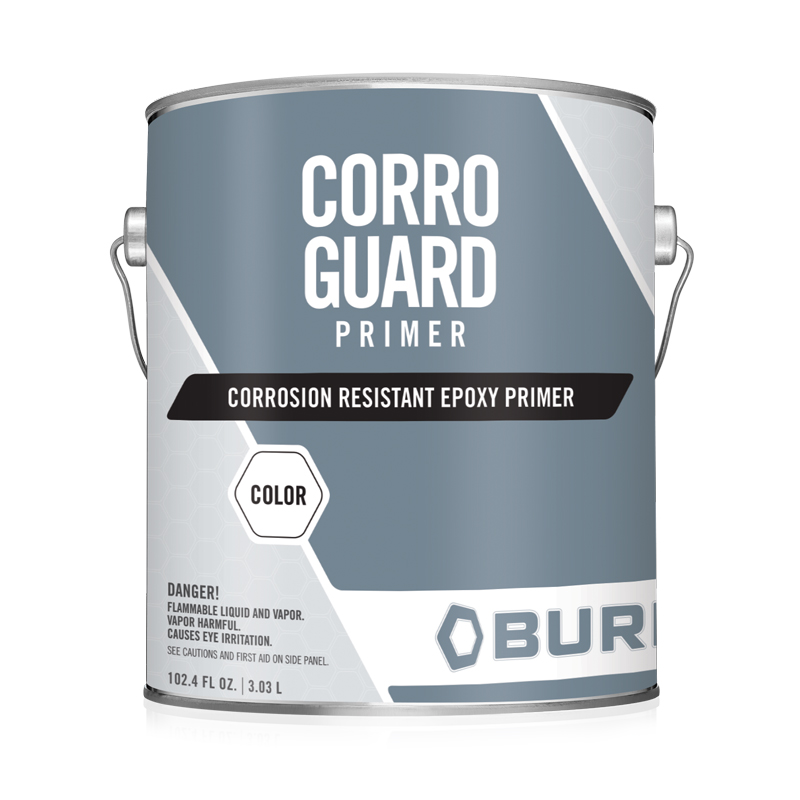Metal and Concrete Water-Based Epoxy Primer Zinc Free - Corro Guard Primer