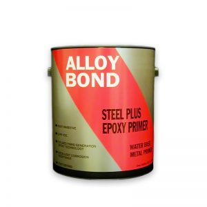 Metal and Concrete Water-Based Epoxy Primer Zinc Free - Steel Plus CR. Steel Plus CR is a heavy duty water based epoxy primer that can be used on metal or concrete where maximum long-term protection is desired. It's a zinc free, chip resistant formula with an improved shelf life. The VOC is under 100 g/l to comply with stricter VOC standards. Steel Plus CR Epoxy Primer is also HAPS free.