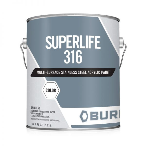 Ready to Use Fast Drying Metal Stainless Steel Urethane Coating SuperLife-316U Superlife-316U is ready to use urethane coating, pigmented with 316 stainless steel flake making it a fast dry and good color retention coating. Ideal for equipment and areas where a minimum of downtime is desired with long-term corrosion protection and good abrasion resistance.